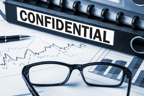 Documents confidentiels