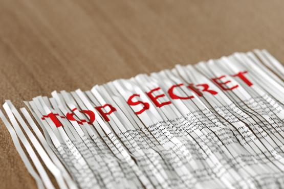 Document confidentiel accessible